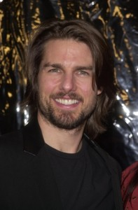 Tom Cruise used ceramic braces to straighten his teeth.