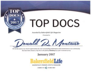 Top Doctor Certificate